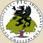 PTG Pomorskie Towarzystwo Genealogiczne Logo